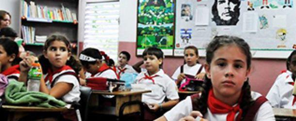 Κορυφαία η Παιδεία στην Κούβα