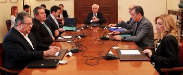 Κοινή δήλωση πολιτικών αρχηγών: Λύση με τέσσερις βασικούς άξονες