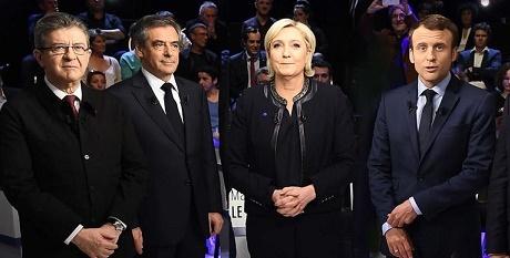 Η πρόβλεψη για τις Γαλλικές εκλογές από τα Ινστιτούτα ODOXA και BVA.