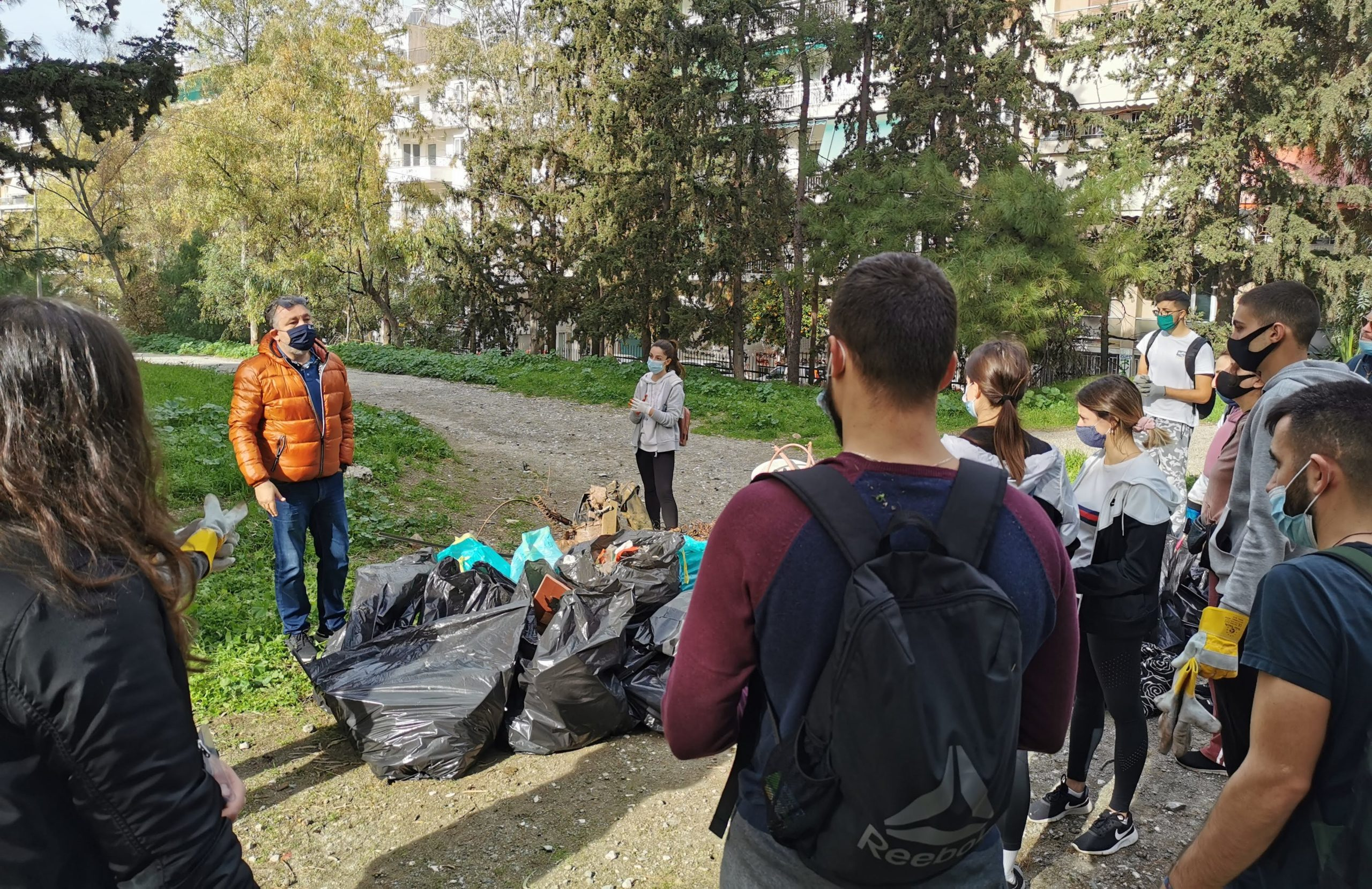 O Δήμος Ζωγράφου στηρίζει την εθελοντική πρωτοβουλία καθαριότητας Save Your Hood